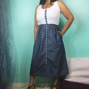 GAP Design & Crafted | Chambray Dress w/ Pockets